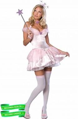 Costume carnevale da donna rosa di Glinda da Il mago di Oz