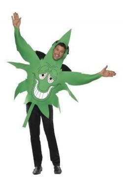 Costume unisex foglia Di Maria cannabis mariuana