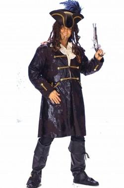 Giacca da uomo pirata corsaro