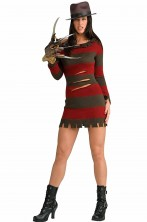 Costume cosplay donna halloween Freddy Krueger Nightmare on Elm Street