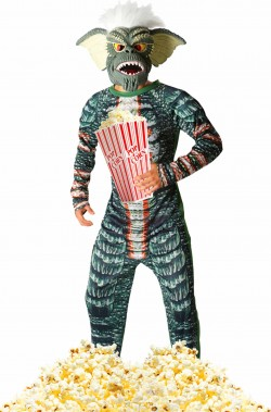 Costume cosplay Gremlin verde anni 80 Stripe adulto