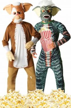 Coppia di costumi carnevale o cosplay I Gremlins