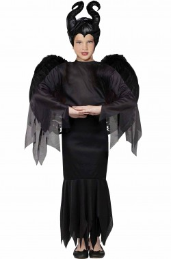 Costume Maleficent Malefica Bambina