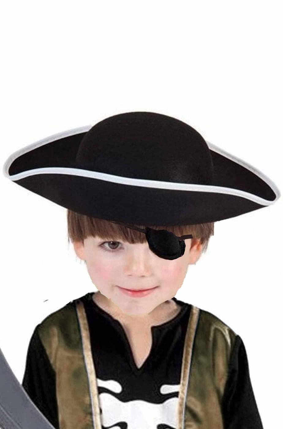 Cappello da pirata a feluca bambino