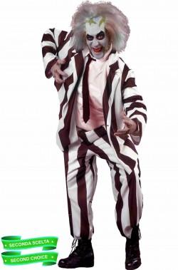 Costume di Beetlejuice Spiritello Porcello adulto SECONDA SCELTA SCONTATO