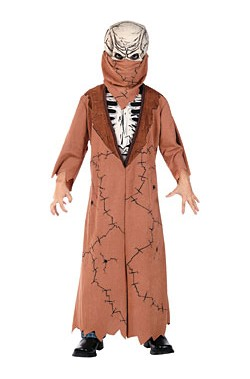 Costume carnevale Bambino Zombie Scheletro