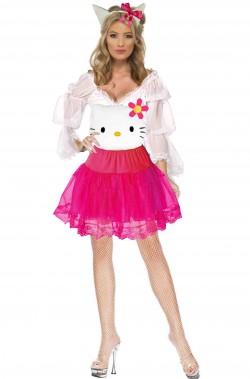 Vestito di carnevale Hello Kitty donna