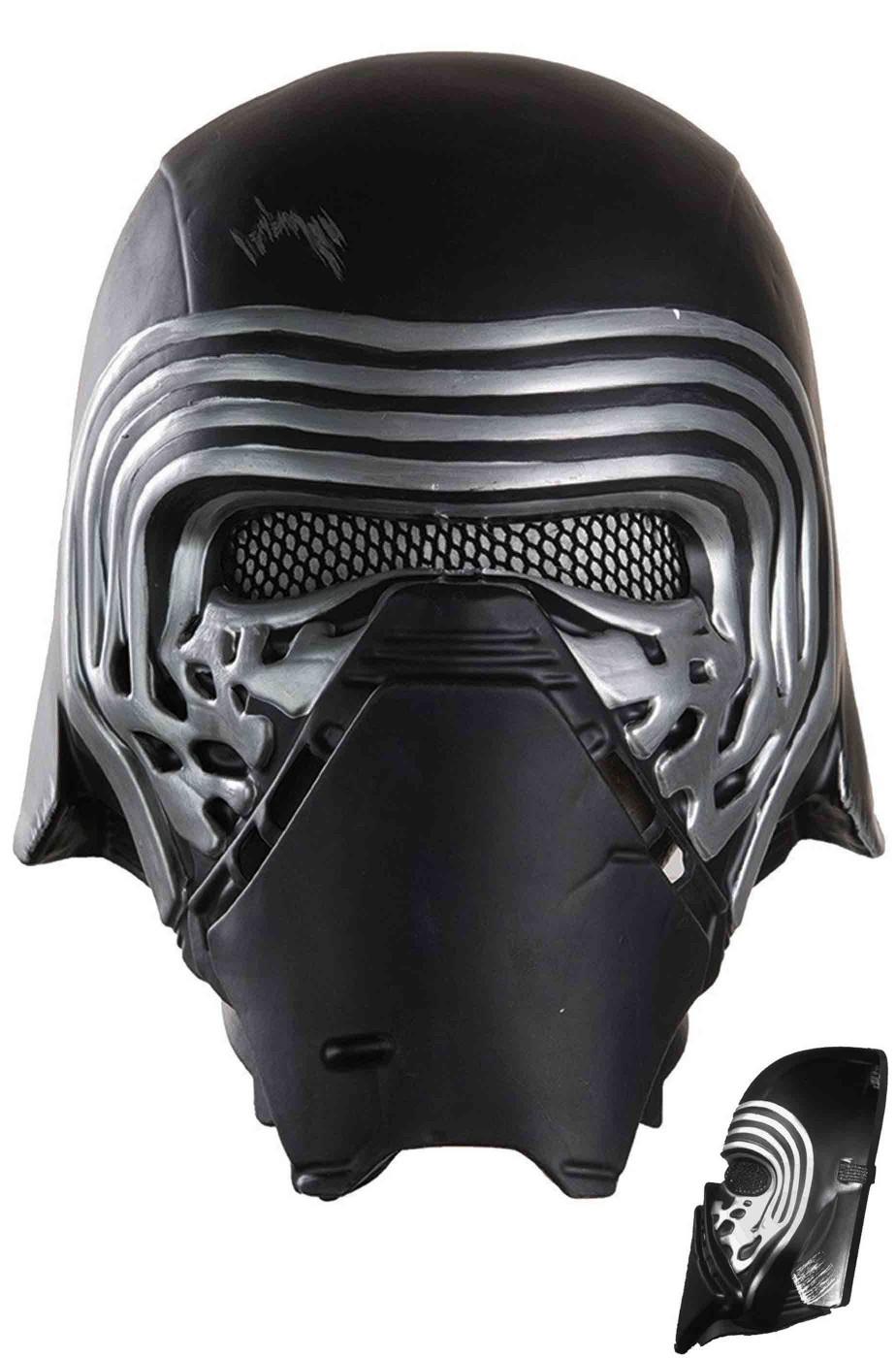 Maschera Kylo Ren Star Wars gli ultimi Jedi solo frontale con elastico
