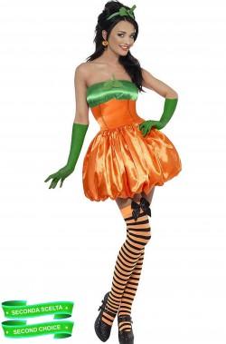 Costume donna zucca di Halloween SECONDA SCELTA