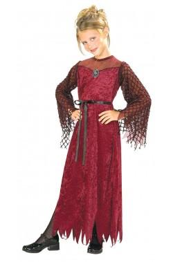 Costume carnevale Bambina Lady Gotica