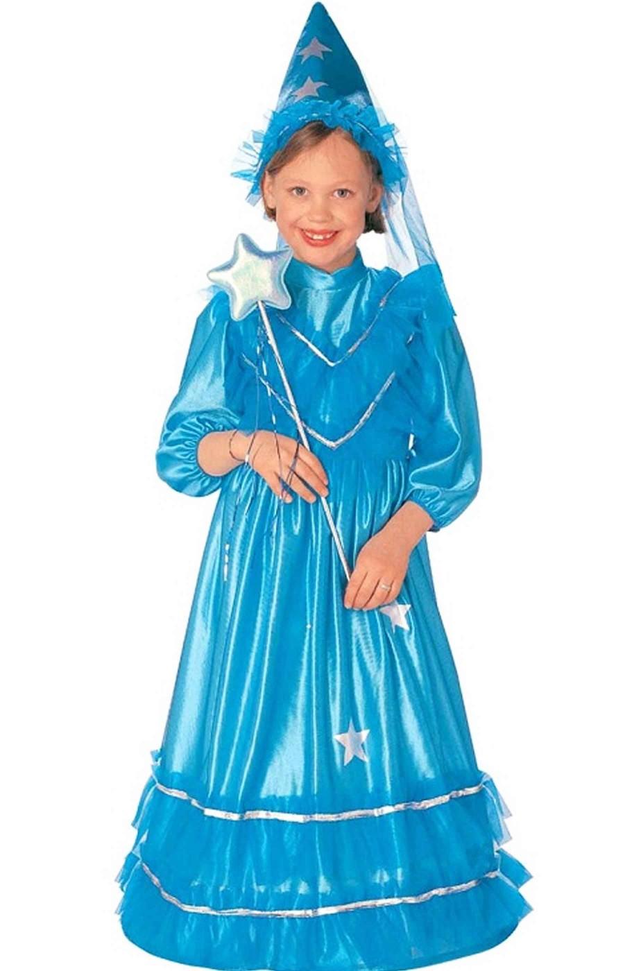 Costume di carnevale Bambina da Fatina Blu fata turchina