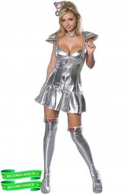 Costume carnevale donna omino di latta Il Mago Di Oz
