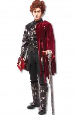 Costume Halloween uomo vampiro principe delle tenebre
