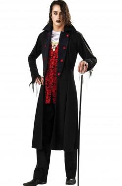 Costume Halloween adulto vampiro reale vittoriano