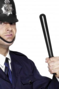 Manganello Poliziotto giocattolo nero