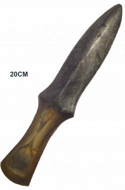Coltello pugnale medievale da lancio in schiuma per LARP e GdV