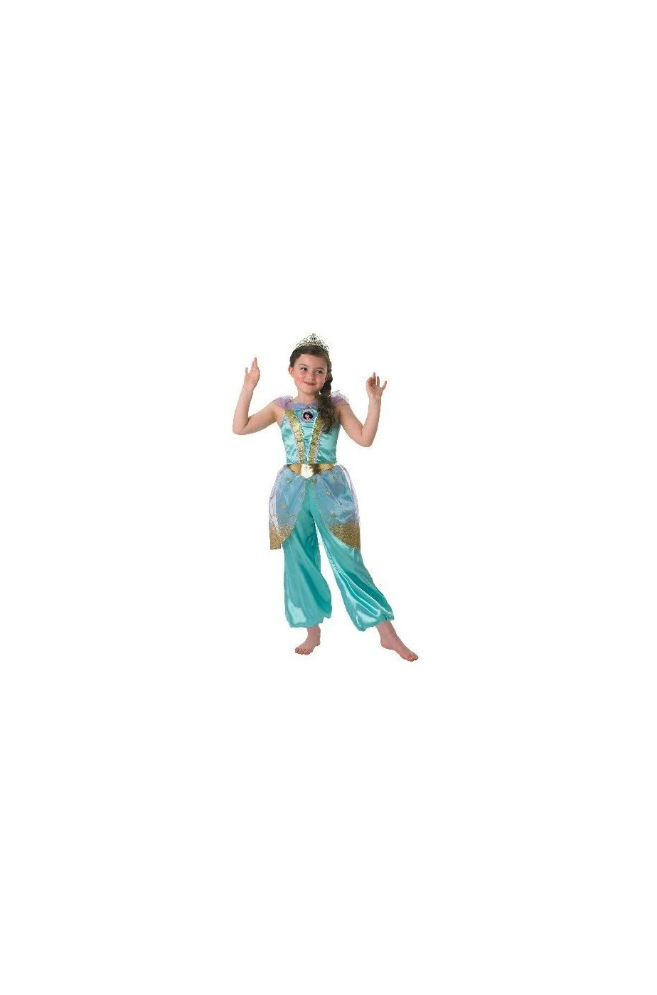 Costume carnevale Bambina Jasmine Disney