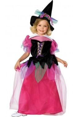 Costume carnevale Bambina Strega De Luxe