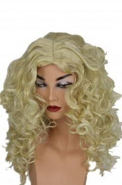 Parrucca donna lunga bionda mossa