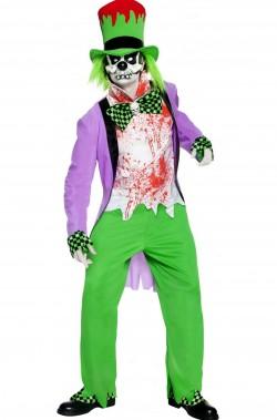 Costume halloween uomo Cappellaio Matto cattivo