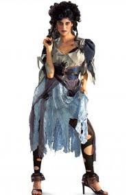Costume Halloween donna Cenerentola Zombie