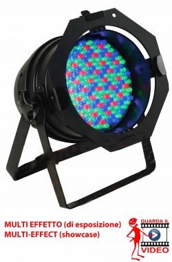 Faro proiettore LED multicolore professionale offerta di esposizione con effetti