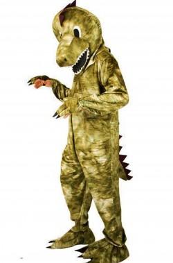 Mascotte da Dinosauro T Rex adulto uomo adulto