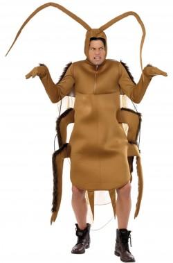 Vestito di carnevale da scarafaggio blatta scarrafone