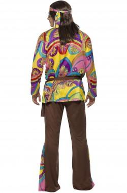 Costume anni 70 psichedelico Hippie Style uomo