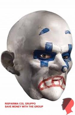 Maschera del clown del Joker della rapina alla banca Chuckles