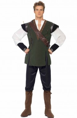 Costume adulto Robin Hood economico
