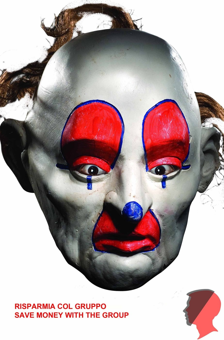 Maschera del clown del Joker Dopey rapina alla banca The Dark Knight