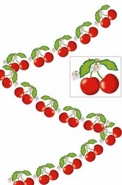 Festone a ghirlanda striscione party ciliegie