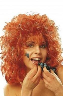 Parrucca rossa con...