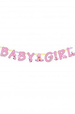 Striscione nascita bambina Baby Girl femmina