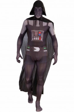 Costume di Darth Vader Star Wars 2nd skin morphsuit