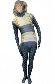 vestito di carnevale da serpente Cobra