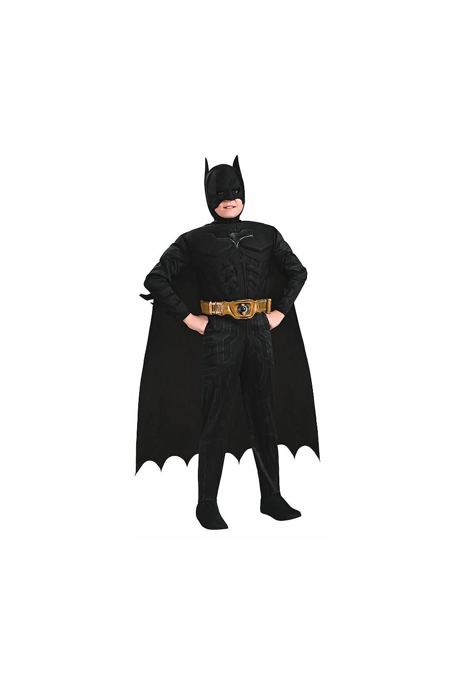 Costume carnevale Bambino Batman Muscolare De Luxe