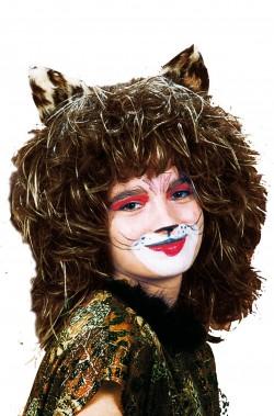 Parrucca da gatto marrone...