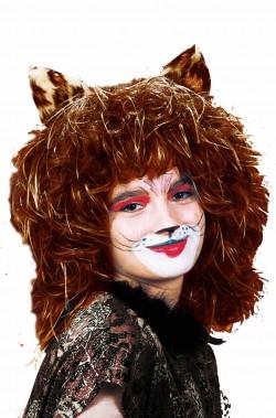 Parrucca da gatto rosso...