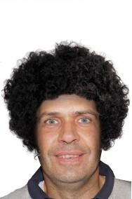 Parrucca nera riccia cugini di campagna