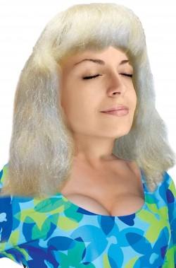 Parrucca bionda liscia...
