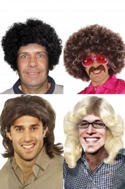 Gruppo quattro parrucche i cugini di campagna anni 70