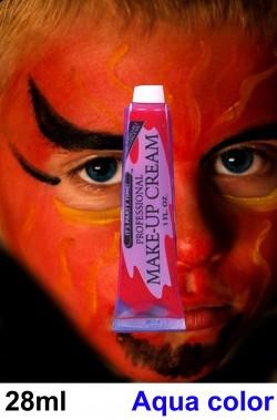 Fondotinta rosso teatrale da trucco halloween
