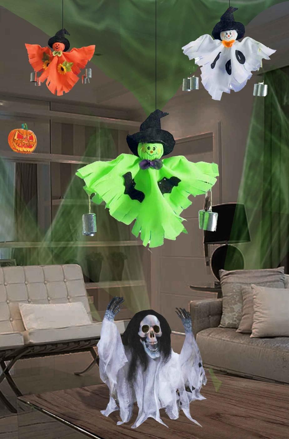 La casa infestata decorazioni halloween scontate