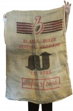 grande sacco di juta del caffe originale brasiliano