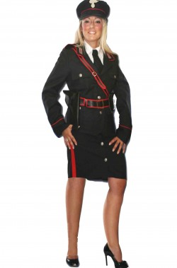 costume uniforme da carabiniera adulta