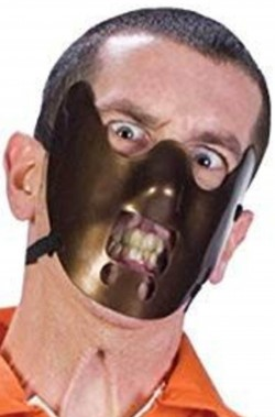 Maschera di Hannibal Lechter il silenzio degli innocenti