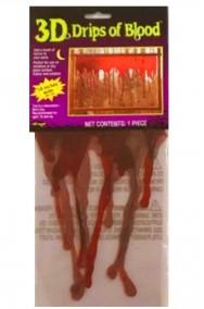 striature di sangue gel per addobbo Halloween