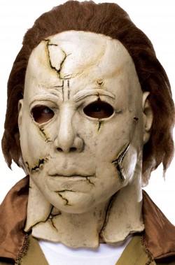 Maschera Michael Myers Halloween Rob Zombie con capelli